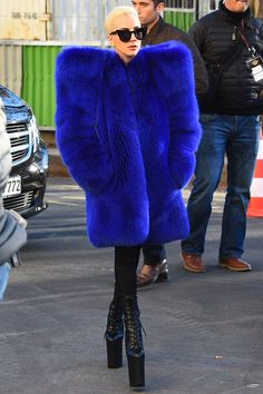 Lady Gaga's Best Street Style Looks - November 29, 2016 from InStyle.com