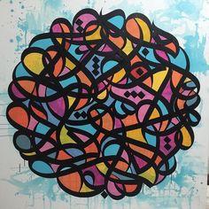 Calligraffiti by artist EL SEED.