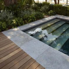 If an inground swimming pool is created of concrete, it will require pool coping ideas, which is a cap for the edge of the swimming pool. Backyard Pool Designs, Small Backyard Pools, Small Pools, Swimming Pools Backyard, Swimming Pool Designs, Outdoor Pool, Backyard Landscaping, Outdoor Spaces, Pool Coping