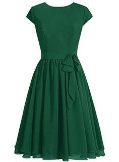 DaaDress Women's Simple Scoop Neckline Cap Sleeves Short ... https://smile.amazon.com/dp/B01ABK7I8A/ref=cm_sw_r_pi_dp_idzMxbEDNZSJN