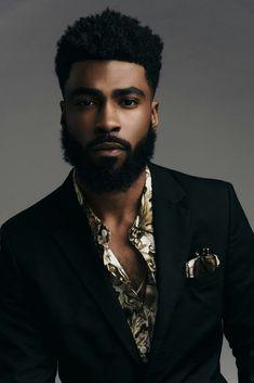 negro de barba
