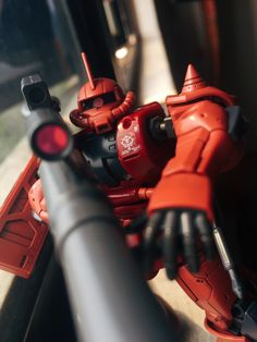 Firdaus Ghazali (Malaysia) HGUC Gundam MS-06S Zaku II I'm very impressed with the quality of this Gundam Origin. The articulation is almost the same as an RG or MG.