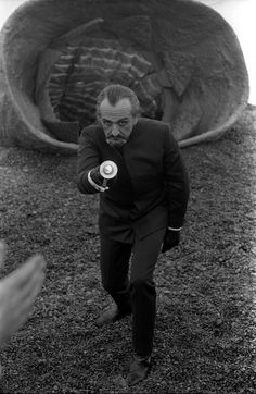 Publicity still of Roger Delgado from 'The Claws of Axos',
