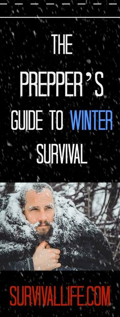 Winter is here, and we will never know what will happen next. In case of any SHTF situation, these ultimate guide to winter preparedness are proven to be helpful, not just for prepper's but for the entire family. Check out the full tips and tricks at : ht Survival Tent, Survival Shelter, Survival Life, Survival Food, Wilderness Survival, Outdoor Survival, Survival Prepping, Emergency Preparedness, Survival Skills