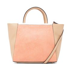 Street Level Two Tone Mini Tote//