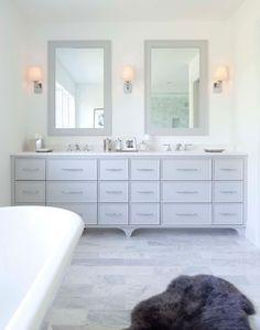 Brookview 1 - contemporary - bathroom - minneapolis - Elevation