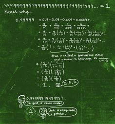 .99999999999999999999999999999.......  =1