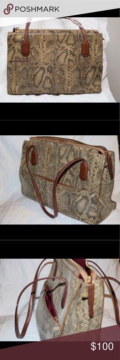 HOBO FRIAR SHOULDER BAG • SNAKE HOBO Friar Shoulder Bag • SNAKE • Leather, good condition, no stains - Make me an offer! :) HOBO Bags