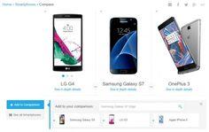 Ver Specout, una excelente forma de comparar especificaciones entre móviles