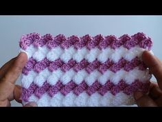 Learn to crochet easy amazing blanket. These amazing stitch provides a fabulous look to any project you chooce especially to blanket, read more. Afghan Crochet Patterns, Crochet Stitches, Knitting Patterns, Crochet Simple, Crochet Instructions, Crochet Videos, Learn To Crochet, Baby Blanket Crochet, Baby Knitting