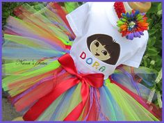 Dora Birthday Girl Outfit....My neice would love this!