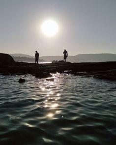 Aproveitando pra dar um mergulho