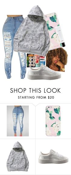 """""""Untitled #46"""" by wavyy-rose on Polyvore featuring ban.do, Puma and MAC Cosmetics"""