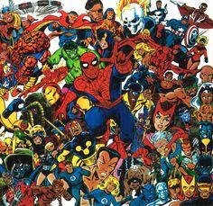 Spider-Man Team Up//John Byrne/B/ Comic Art Community GALLERY OF COMIC ART