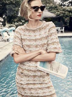Grown-Up Glamour: Valentina Zelyaeva By Regan Cameron For Uk Harper's Bazaar…