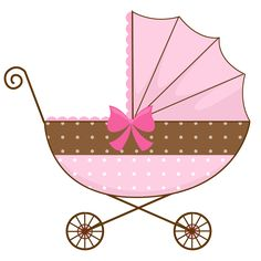 baby clipart girl cute pink baby carriage free clip art family rh pinterest com vintage baby carriage free clipart