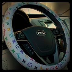 Brand New multi color steering wheel cover Put luxury to your car absolutely gorgeous  Accessories