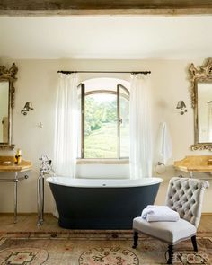 Master Bath - ELLEDecor.com