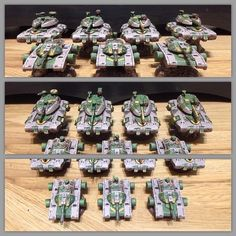 I gotta say, I just love me some #hovertanks. #HeavyGearBlitz #dreampod9 #miniatures #tabletop #wargaming #warmongers #painting