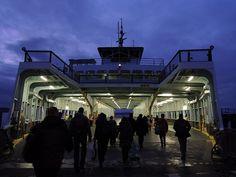Walk-ons boarding M/V Klahowya @ Fauntleroy ferry terminal by planet_lb, via Flickr