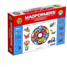 Amazon.com: Magformers 112 Challenger Set: Toys & Games 135$