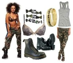 Scary Spice Mel B outfit Scary Spice Costume cb2b97af5