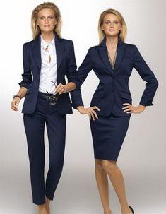 Trajes de oficina para mujeres