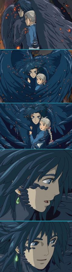 Howl's Moving Castle scene