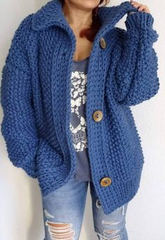 How To Easy Crochet Jackets Patterns New 2019 - Page 3 of 21 - apronbasket .com How To Easy Crochet Jackets Patterns New 2019 - Page 3 of 21 - apronbasket .com Always wanted to figure out how to knit,. Crochet Coat, Crochet Winter, Easy Crochet, Crochet Clothes, Crochet Yarn, Free Crochet Jacket Patterns, Crochet Cardigan Pattern, Mantel, Knitted Jackets Women