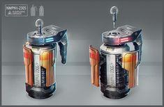 ArtStation - Grenades concept, Juan Novelletto