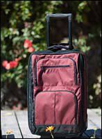 "Rick Steves Roll-Aboard Carry On Bag Review: Rick Steves' 21"" Roll-Aboard Carry On"