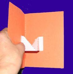 Lesson 16: V-fold pivot How to make pop up cards.