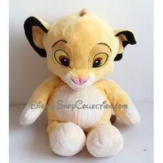 Peluche lion Simba DISNEY NICOTOY Le Roi Lion floppy 55 cm
