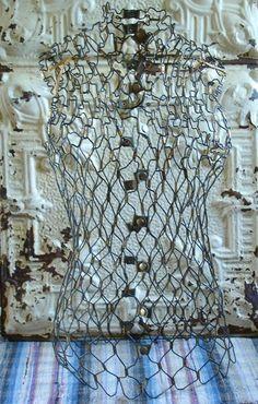 Vintage Adjustable Dritz Wire Mannequin Dress by JunkFromMyTrunk, $99.00