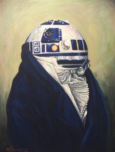 Duke R2-D2 Art Print