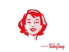 RubySnap Girl by Amit Botre - Dribbble
