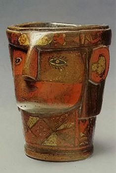 Inca Kero (  drinking vessel )