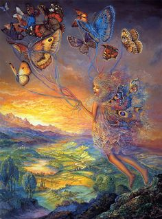 """Up and Away 1"" par Josephine Wall"
