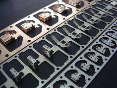 custom mechanical parts metal stamping