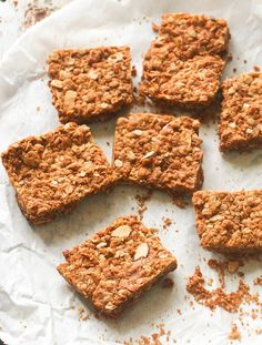 Crunchies Recipe - South African Oatmeal Bar - Nutty, buttery, Sweet, and Crunchy - step-by-step pictures. Cookie Recipes, Snack Recipes, Curry Recipes, Breakfast Recipes, Oatmeal Cookie Bars, Nigerian Food, South African Recipes, Caribbean Recipes, Food To Make