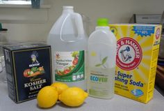 Homemade Borax-free dishwasher detergent