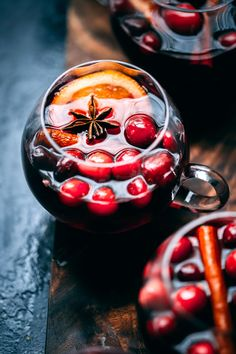 Cranberry Molasses Mulled Wine   A Giveaway