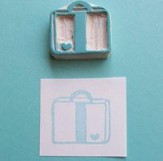Bon Voyage Heart Suitcase