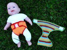Häkelanleitung Windel für Puppen