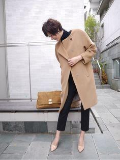 「 Maki's wardrobe 」の画像|田丸麻紀オフィシャルブログ Powered by Ameba|Ameba (アメーバ) Classy Winter Outfits, Simple Outfits, Fall Outfits, Fashion Outfits, Fashion Over 40, Work Fashion, Fashion Looks, Fashion Design, Style Classique