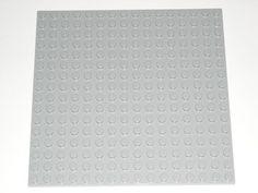 Lego Light Bluish Gray 16x16 Plate Base 16 x 16 5771 673419143820 | eBay