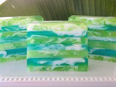 Aloe Vera handcrafted glycerin soap by SeasideSoapKitchen on Etsy