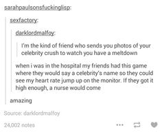 I wouldn't be surprised if my friends did this. :)