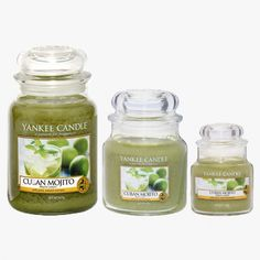 Nouvelle collection Yankee Candle Bougies Jarres parfum Cuban Mojito chez www.cometeshop.com