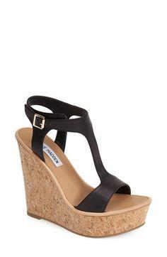 Steve Madden 'ILuvIt' T-Strap Wedge Sandal (Women) | Nordstrom